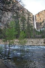 Bridalveil Fall in Yosemite (GMLSKIS) Tags: california waterfall nationalpark yosemite mercedriver bridalveilfall