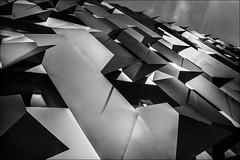 Gomtrie et harmonie (vedebe) Tags: city bw monochrome architecture noiretblanc aixenprovence nb provence rue ville conservatoire urbain netb