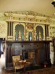 Drawing Room fireplace, Ightham Mote, Kent (Brownie Bear) Tags: uk england kent britain united great kingdom gb moat item ightham mote