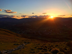 Lake District Sunset (Marc Sayce) Tags: park lake green countryside district national cumbria pike ambleside wansfell