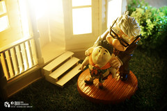 up (Thai Toy Photographer) Tags: house anime up night toys model russell outdoor uncle disney pixar carl goodnight figure figurine figures toyphotography wdcc disneyclassics kenksiri