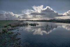 Waterdonken januari 2016 (cees van gastel) Tags: nature water netherlands clouds landscape skies nederland natuur wolken breda landschap noordbrabant luchten sigma1020mm ceesvangastel canoneos40d waterdonken waterakkers