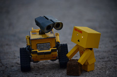 Duuuuh (Hada ) Tags: toy toys walle danbo danboard