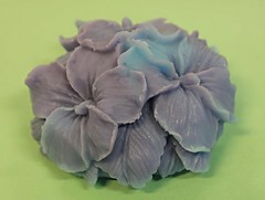 Hydrangea $3.00 (Clelian Heights) Tags: flowers hydrangea soaps unscented decorativesoaps cleliansoaps