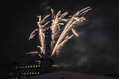 Starting the Year off with a Bang (A Great Capture) Tags: new city eve urban ontario canada tower clock beautiful night dark lights downtown photographer artgallery fireworks nye canadian boom nighttime years civiccentre bang mississauga hanabi firecrackers fuegosartificiales fuegos 花火 on sauga fogosdeartifício agc 2016 ald 烟花 불꽃 نارية 烟花爆竹 фейерверк celebrationsquare ash2276 ألعاب adjm fuochid'artificio ashleylduffus wwwagreatcapturecom agreatcapture desfeuxdartifice