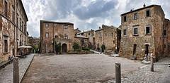 DSC_0833-0834 Civita di Bagnoregio (VT) (Giovanni Pilone) Tags: viterbo architettura rovine civitadibagnoregio allaperto