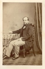 Death, Henry - Seated Man - cdv (snap-happy1) Tags: england men london fashion de photography death victorian henry cdv visite cartes rochon