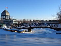 Skating rink at Montreal's Old Port (chibeba) Tags: city winter vacation urban holiday canada montral quebec outdoor montreal iceskating skating january icerink skaters rink northamerica qc 2016 citybreak