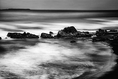 Pacific Ocean from Washington (levent_eryilmaz) Tags: ocean longexposure bw art yellow landscape rocks long exposure waves fineart fine filter nd grainy sescape