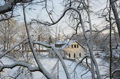 Keila-Joal (anuwintschalek) Tags: park schnee winter white snow landscape estonia january powerplant lumi weiss hej eesti winterlandscape estland talv keila winterlandschaft 2016 wasserkraftwerk valge keilajoa d7k elektrijaam keilajuga nikond7000 talvemaastik 18140vr