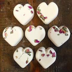 (i.am.rebecca) Tags: love rose naked happy lemon heart handmade fresh lush heartshaped rosebuds bathbomb lushcosmetics ethical lovepotion essentialoils tistytosty selfpreserving