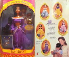 1997_Princess_Stories_Jasmine (Disney_&_Collection) Tags: classic lamp store outfit doll princess jasmine magic jafar barbie disney collection nights 1997 1992 arabian aladdin stories walt mattel iago genie