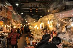 Sense of Seoul (lionpool) Tags: street travel food nikon poem haiku smoke streetphotography korea snack seoul midnight streetfood d90