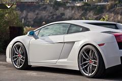 Lamborghini Gallardo - Vorsteiner V-FF 105 Flow Forged Wheels (Vorsteiner) Tags: wheels performance lamborghini concave monoblock aftermarket tuned lamborghinigallardo vorsteiner