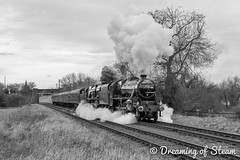 GCR-WINTER-GALA-5 (Dreaming of Steam) Tags: railroad heritage train vintage pacific smoke engine railway steam locomotive sr steamengine southernrailway stainer steamlocomotive lms 460 2016 greatcentralrailway blackfive 5305 gcr 462 bulleid battleofbritainclass wintergala black5 45305 34053 heritagerailways rebuiltbattleofbritain