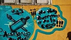 No lo queremos.... #graffiti #lacallehabla #mural #fisvra15 #arteurbano #art #artecallejero #colorsoflife #conxperiadisfrutochile (tauatauin) Tags: art graffiti mural artecallejero colorsoflife arteurbano lacallehabla conxperiadisfrutochile fisvra15