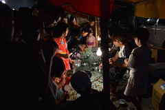 Festivals (Memories of the Far East) Tags: fish girl japan child  matsuri tottori