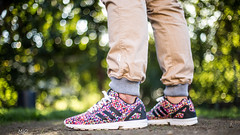 """Adidas Zx Flux """"Color Prism"""" (_ShoeZilla) Tags: california new pink blue sunset red portrait sky horse house cold color green beach me water colors yellow cali canon boats 50mm la duck losangeles seaside nice warm cityscape colours dof purple wind bokeh fullframe adidas joggers 6d canon6d adidasoriginal canonfullframe"""