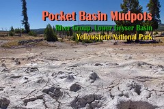 Pocket Basin Mudpots in motion (Chief Bwana) Tags: forest river yellowstonenationalpark yellowstone wyoming geyser nationalparks hotspring wy fireholeriver mudpot thermalarea lowergeyserbasin paintpot geyserbasin rivergroup psa104 chiefbwana