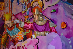 Yeah, YOU! (BKHagar *Kim*) Tags: street carnival people night colorful king neworleans parade celebration napoleon bernie nola mardigras float riders krewedetat prytania detat bkhagar