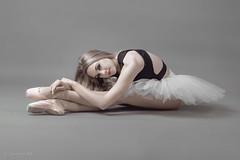 Jaime (sauliuske) Tags: portrait green female pose studio ballerina dancer fujifilm tutu