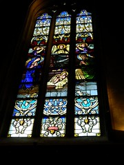 Notre-Dame Cathedral, Luxembourg (wattallan594) Tags: city travel windows glass europe stained luxembourg notre dame cathdral