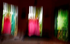 Through the windows : An experimenr for an abstract photography (biswarupsarkar72) Tags: abstract slowshutterspeed abstractphotography creativephotography intentionalcamerashake