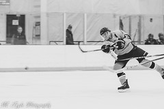 (Matt Tighe) Tags: blackandwhite sports hockey monochrome photography navy monochromatic photograph academy navel lightroom lightroom6