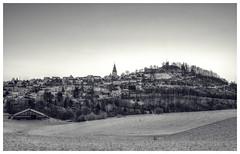 Postcard from the past (-SebsTian-) Tags: white black landscape 1750 tamron landschaft weiss schwarz