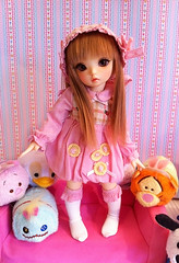 Strawberry Vanilla Pink  (Lunelle) Tags: pink strawberry luna vanilla fairyland ltf littlefee