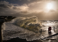 Storm Imogen (Elm Studio) Tags: uk morning sea england sky copyright sun seascape clouds outdoors seaside flooding waves stormy isleofwight promenade gb morgan contrejour englishchannel freshwater copyrighted gbr freshwaterbay jeffmorgan elmstudio jeffelmstudiocom wwwelmstudiocom 4407542933700