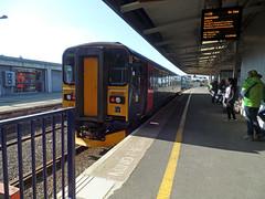 153329 Plymouth (Marky7890) Tags: station train plymouth railway devon gwr dmu class153 tamarvalleyline supersprinter 153329 2g74