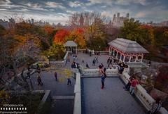 Belvedere Castle (Anabainon) Tags: autumn newyork building landscape centralpark otoo belvederecastle canon60d