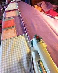 #2016floatingsquares improv quilt piecing (woodcut55) Tags: modern quilt quilting improv patchwork applique mqg modernquiltguild dcmqg washingtondcmodernquiltguild 2016floatingsquares