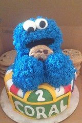Cookie Monster Cake , Seattle WA, www.birthdaycakes4free.com (1)