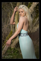At One... (Trev K1) Tags: tree green nature zeiss outside spring model dress alicia sony jena carl blonde oxfordshire 135mm a7ii conder