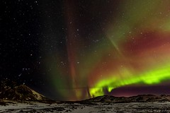 Orion and the lights (Dan Fleury Photos) Tags: sky night stars landscape lights is iceland astro aurora orion constellation northernlights capitalregion