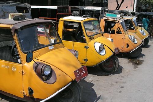 Myanmar - Mandalay - Streetlife - Taxi - 6