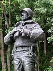 Luxemburg, Ettelbruck - Generaal Patton (glanerbrug.info) Tags: 2003 wwii luxembourg ltzebuerg secondeguerremondiale tweedewereldoorlog ettelbrck oorlog19401945 luxemburgkantondiekirch