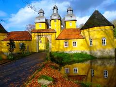Herbstansicht © Ludwig Teichmann (Stadt SHS) Tags: natur schloss wald kultursommer jagtschloss schlossholte seenundteiche sennebäche