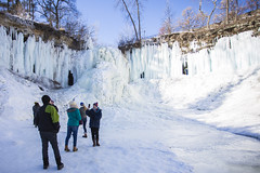 IMG_4091-1 (Domini Brown) Tags: park people ice minnesota portraits wonder outside outdoors togetherness climb frozen waterfall state north minneapolis falls adventure explore kindness candids minnehaha