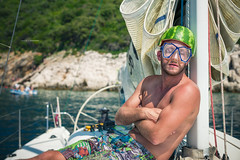Solaris 36OD Segeltrn 2015-08-07 (tine_stone) Tags: friends sea vacation water fun boot boat meer wasser sailing urlaub croatia spass segeln istria sailingboat entspannung cres mannschaft ruhe trn segeltrn tinefoto kapkamenjak solaris36od