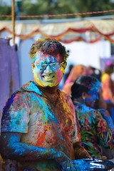 Holi 2016 (todiadarsh) Tags: colors colorful indian holi aunty 2016 indianfestival festivle holi2016