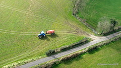 IMG_1445 (ppg_pelgis) Tags: road uk ireland tractor flying farm aerial northernireland northern ppg tanker tyrone slurry omagh notadrone