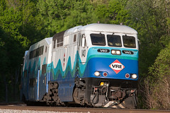 VRE Sounder F59PHI (Michael Karlik) Tags: train transit sound commuter passenger fairfax sounder vre f59phi virginiarailwayexpress