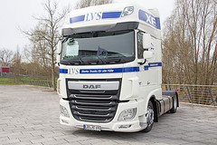 AutoTrend 2016 Rostock - DAF XF Euro 6 460 (www.nbfotos.de) Tags: truck rostock daf lkw 460 xf 2016 zugmaschine autotrend hansemesse euro6