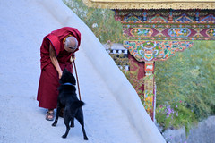 Thiksay Monastery..... Candid Moments (pallab seth) Tags: city travel panorama india mountain tourism statue landscape asia tour monk monastery valley idol lama layers leh himalayas deity rinpoche thikse highaltitude gompa buddhistmonk tibetanbuddhism jammuandkashmir spiritualleader indusvalley thiksay thikseygompa oldlama