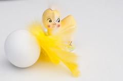 Glad Psk (Algots) Tags: chicken yellow easter egg gul psk gg kyckling fjder