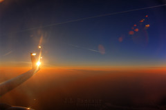 Flare Above the Clouds (J.L. Ramsaur Photography) Tags: blue sunset sky orange sun sunlight yellow clouds sunrise airplane photography photo inflight nikon flight wing bluesky pic photograph lensflare flare thesouth sunrays hdr airplanewindow wingtip sunflare abovetheclouds 2014 airplanewing whiteclouds beautifulsky sunglow photomatix deepbluesky bracketed skyabove hdrphotomatix hdrimaging ibeauty hdraddicted allskyandclouds tennesseephotographer d5200 southernphotography screamofthephotographer hdrvillage jlrphotography photographyforgod worldhdr nikond5200 hdrrighthererightnow engineerswithcameras hdrworlds godsartwork naturespaintbrush jlramsaurphotography betweentennesseeandpennsylvania flareabovetheclouds