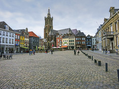 market place Roermond (seyjo) Tags: church river places location marketplace maas hdr roermond urbanscape historiccity historicbuildings rur dutchcity steenenbrug seyjo
